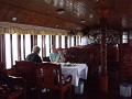 And inside the boat, the food was great