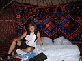 08 overnachting in yurt