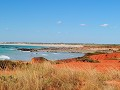 Gantheaume point, met zicht op Cable Beach, Broome