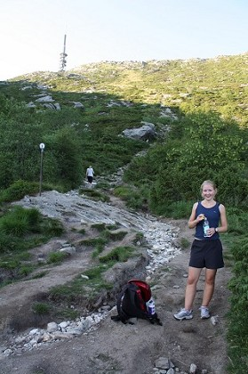 Climbing Ulriken (highest mountain of bergen, 643 meter)