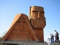 "Stepanakert (6) - Nationaal monument ""We Are Our M"