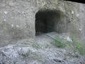 An example of the tunnels that were dug when the J
